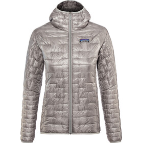 Patagonia Micro Puff Capuchon Jas Dames, feather grey